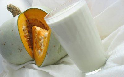 Тыквенные семечки с молоком